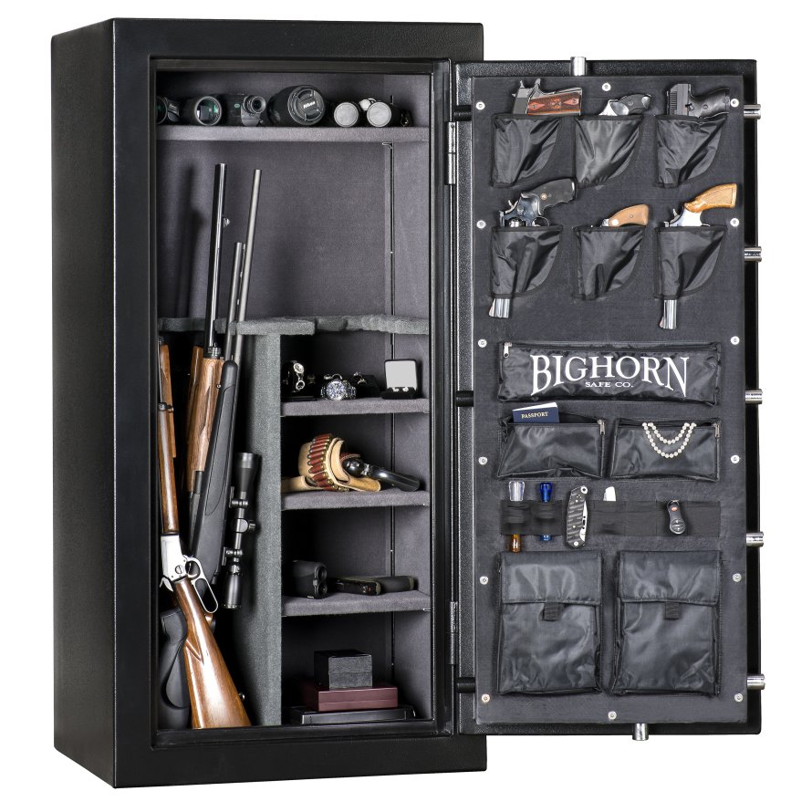 59x30 Quot Bighorn 6030elx Gun Safe 70 Minute Fire Verified