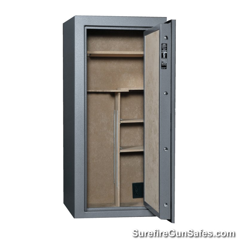 60x28 cannon scout series s19 gun safe 24 gun max 30 minute fire rated surefire gun safes. Black Bedroom Furniture Sets. Home Design Ideas